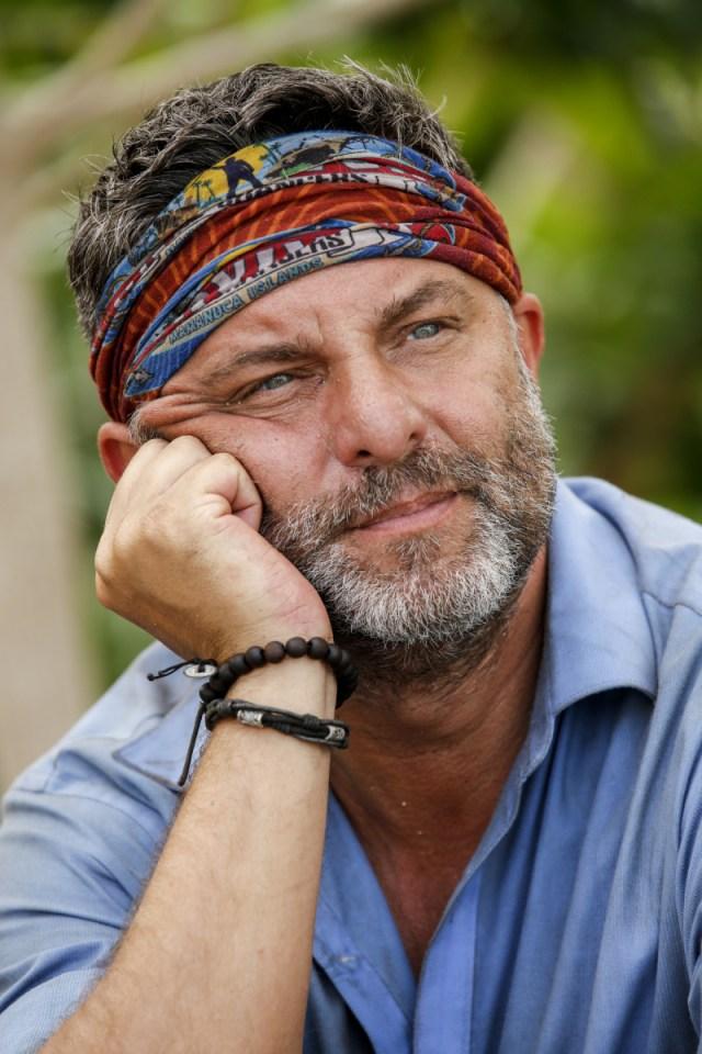 Jeff Varner wears Mana buff on Survivor: Game Changers