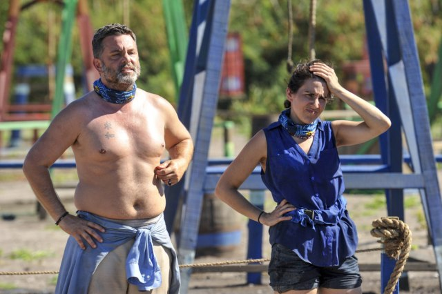 Jeff Varner with Aubry Bracco on Survivor: Game Changers