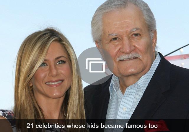Jennifer Aniston & dad