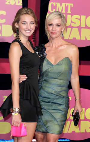 Jennie Garth and daughter Luca