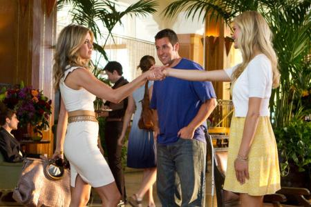 Jennifer Aniston, Adam Sandler and Brooklyn Decker in Just Got With It