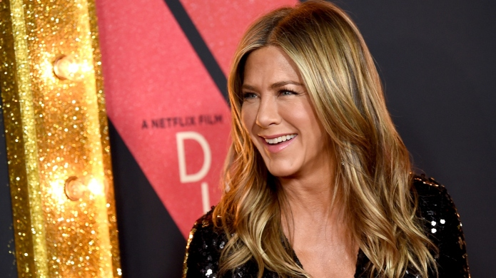 Jennifer Aniston arrives at the premiere