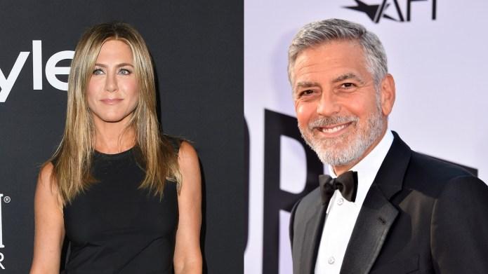 Jennifer Aniston & George Clooney