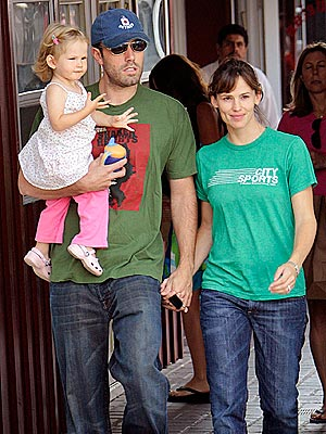 The Affleck family, when it was three