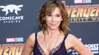 Jennifer Grey attends the 'Avengers: Infinity