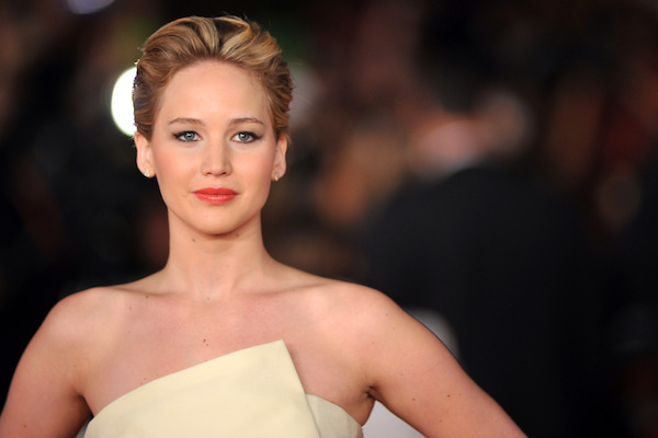 Jennifer Lawrence at the Catching Fire premiere in Germany.