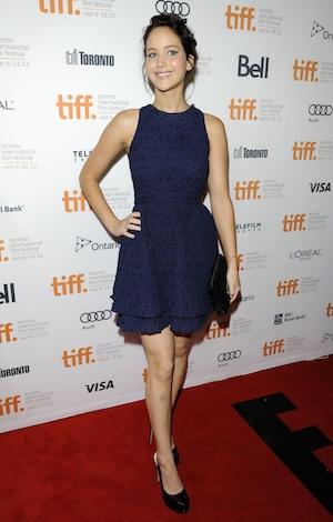 Oscar buzz: Jennifer Lawrence in Silver Linings Playbook.