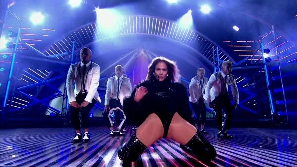 Jennifer Lopez sexy performance on Britain's Got Talent