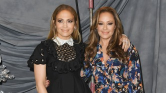 Jennifer Lopez and Leah Remini attend