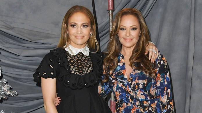 Jennifer Lopez and Leah Remini attend