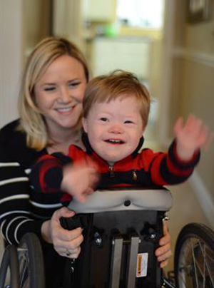 Jennifer Towell and son Joey