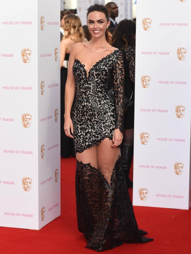 Jennifer Metcalfe at the TV BAFTAS 2015