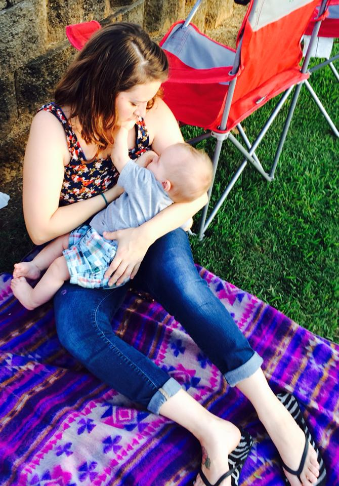 Jerrika breastfeeding | Sheknows.com