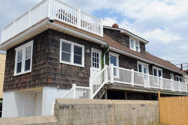 Jersey Shore house spared by Hurricane Sandy