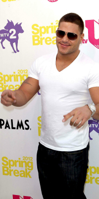 Ronnie Ortiz at MTV Spring Break in Las Vegas