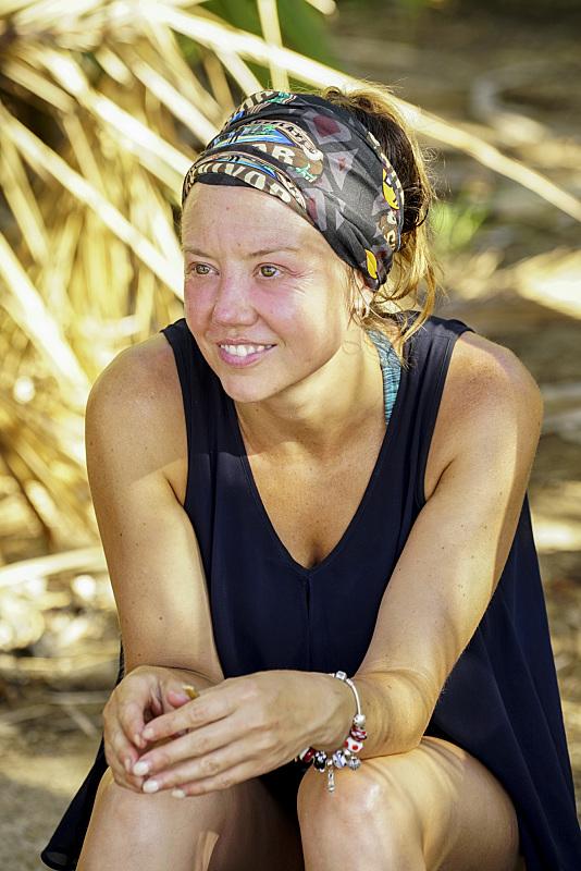 Jessica Lewis wears merged buff on Survivor: Millennials Vs. Gen-X