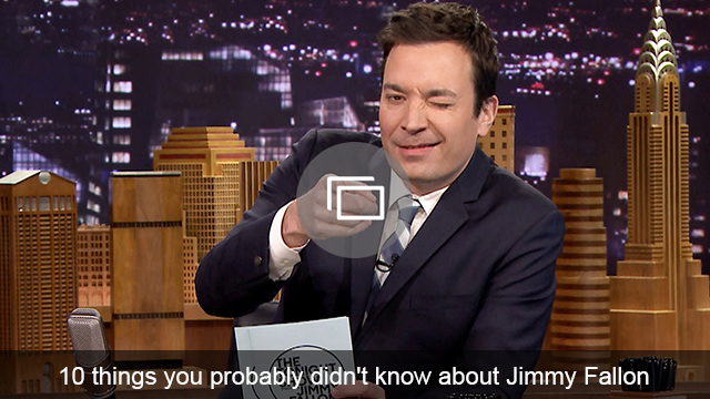 Jimmy Fallon slideshow