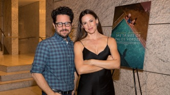 J.J. Abrams and Jennifer Garner attend
