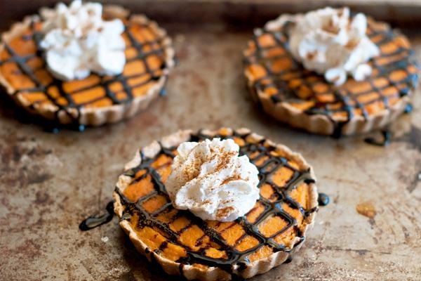 Mini gluten-free pumpkin tarts