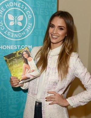 Jessica Alba's new book: Honest advice