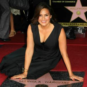 Mariska Hargitay's Walk of Fame star
