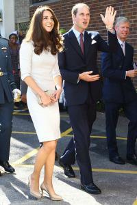 Prince William & Kate Middleton visit