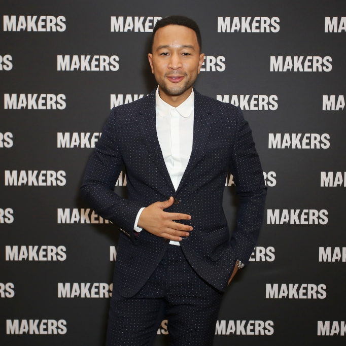 DANA POINT, CA - FEBRUARY 07: (EDITORS NOTE: Retransmission with alternate crop.) John Legend attends The 2019 MAKERS Conference at Monarch Beach Resort on February 7, 2019 in Dana Point, California. (Photo by Rachel Murray/Getty Images for MAKERS)