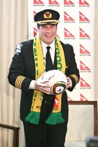 John Travolta in South Africa