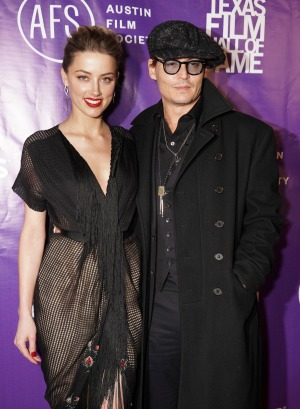 Johnny Depp confirms his engagement to Amber Heard for the second time