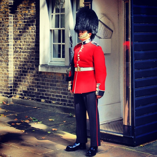 The British Royal Guard