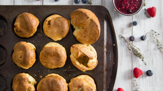 Sweet and savory popovers are an