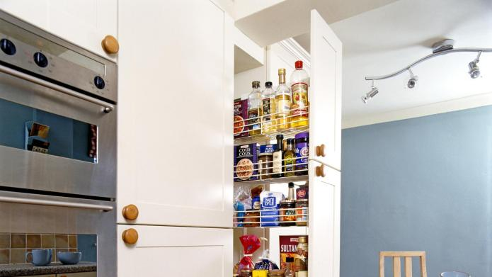 8 Small pantries that are big