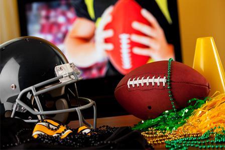 Super Bowl party home decor ideas
