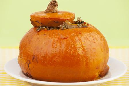Tonight's Dinner: Dinner in a pumpkin