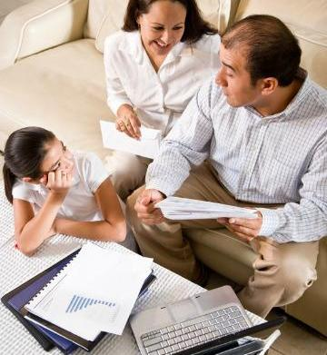 Tips for setting a family budget