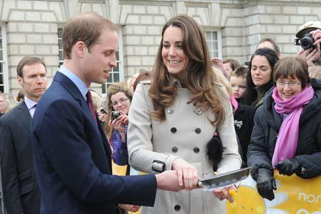 Which celebs are on the royal