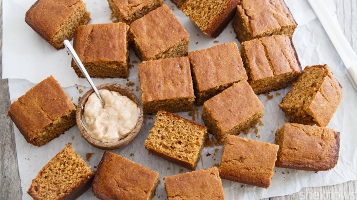 Gingerbread cornbread — sweet, savory and