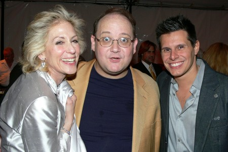 Judith Light, Desperate Housewives creator Marc Cherry and Ugly Betty's Silvio Horta