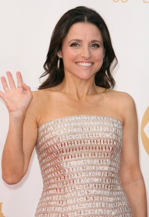 Julia Louis-Dreyfus appears butt-naked on the cover of the Rolling Stone magazine
