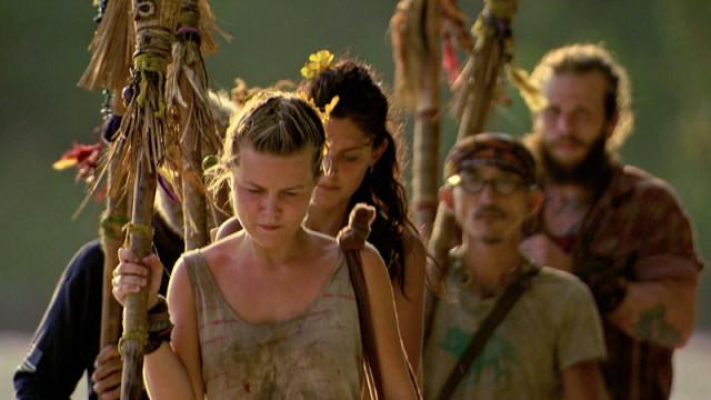 Julia Sokolowski leads the tribe on Survivor: Kaoh Rong