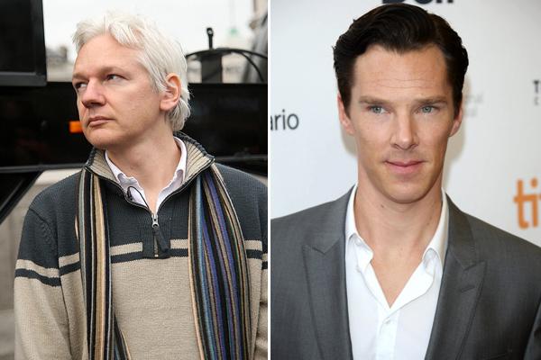 Julian Assange, Benedict Cumberbatch