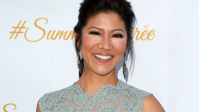 Julie Chen tears up as she