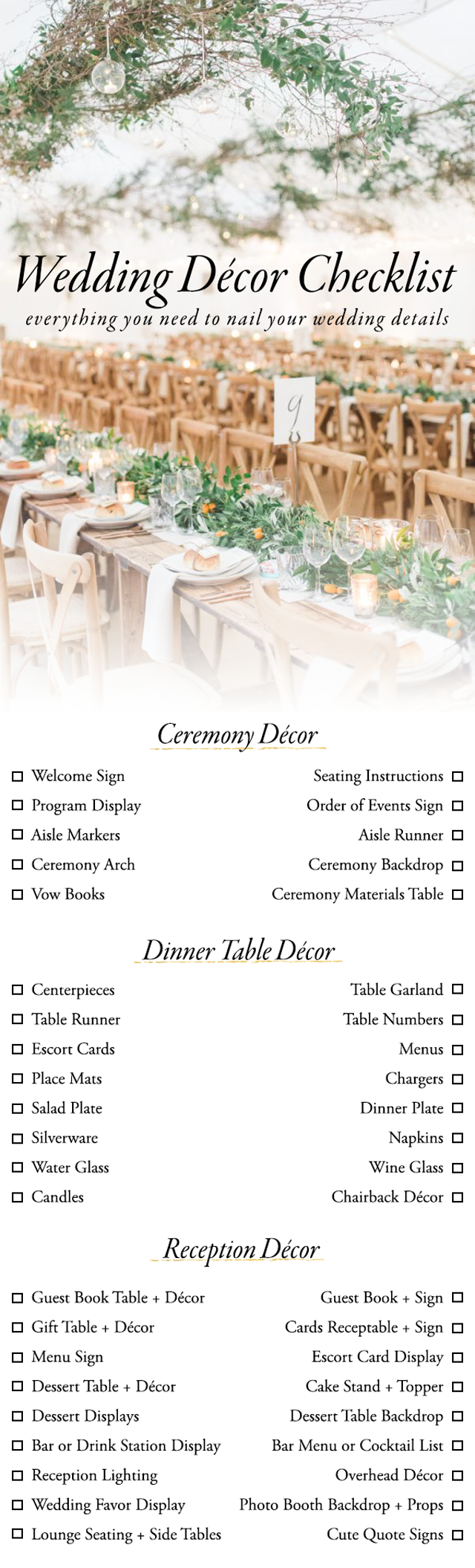 10 printable wedding checklists for the organized bride sheknows