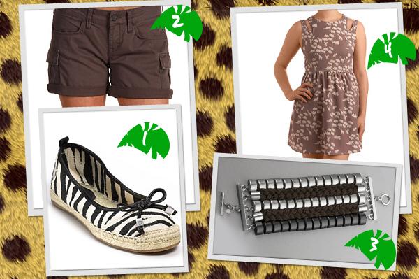 Jungle Inspired Fashion 1