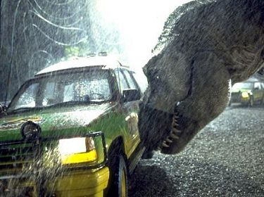 Just one of Crichton's hits, Jurassic Park