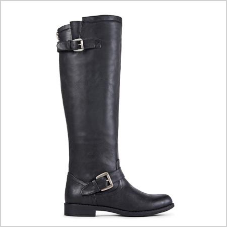 JustFab Zella Boot in Black