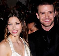 Justing Timberlake and Jessica Biel