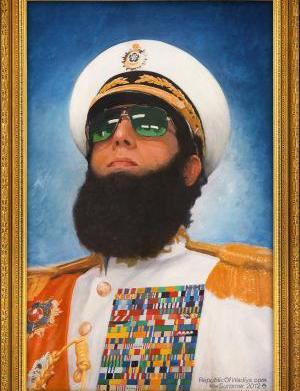 Sacha Baron Cohen's The Dictator uses