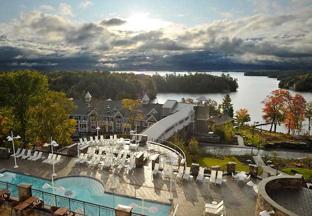 J.W. Marriott The Rosseau Muskoka Resort, Therapy Pools   Sheknows.ca