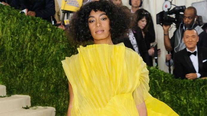 Solange Knowles' cryptic Met Gala tweet
